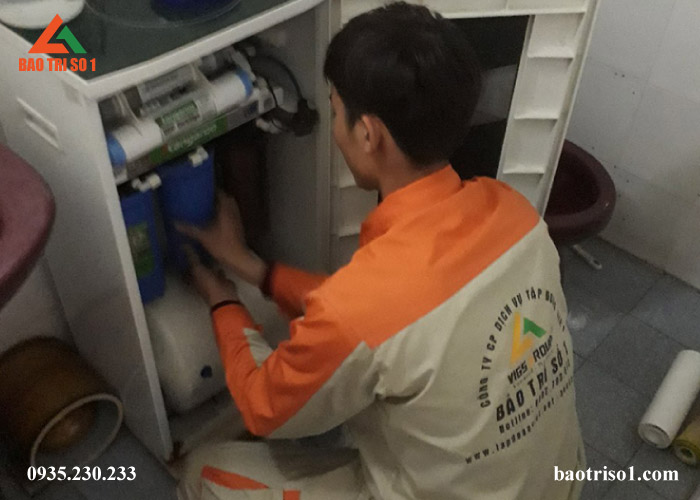 Địa chỉ sửa máy lọc nước chất lượng tại Tây Hồ