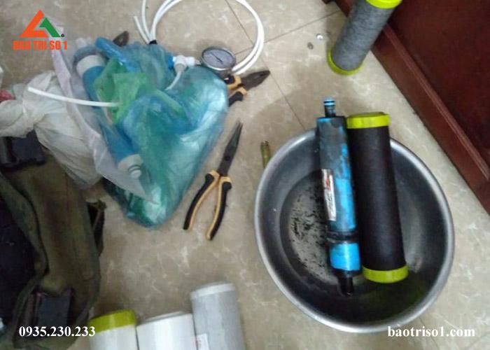 thay lõi lọc nước Karofi chất lượng