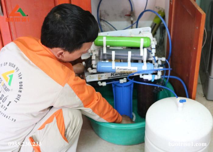 bảo dưỡng máy lọc nước Kangaroo uy tín