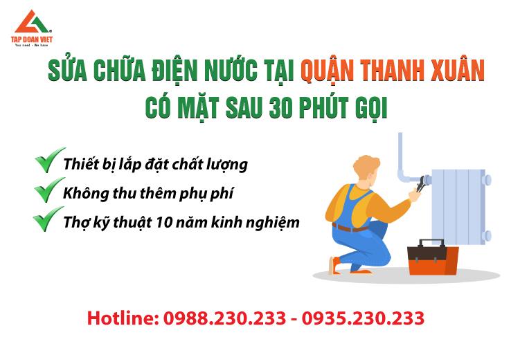 sửa máy lọc nước tại quận Thanh Xuân giá rẻ