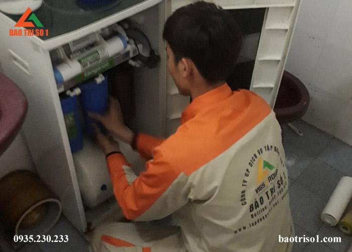 sửa bơm máy lọc nước uy tín
