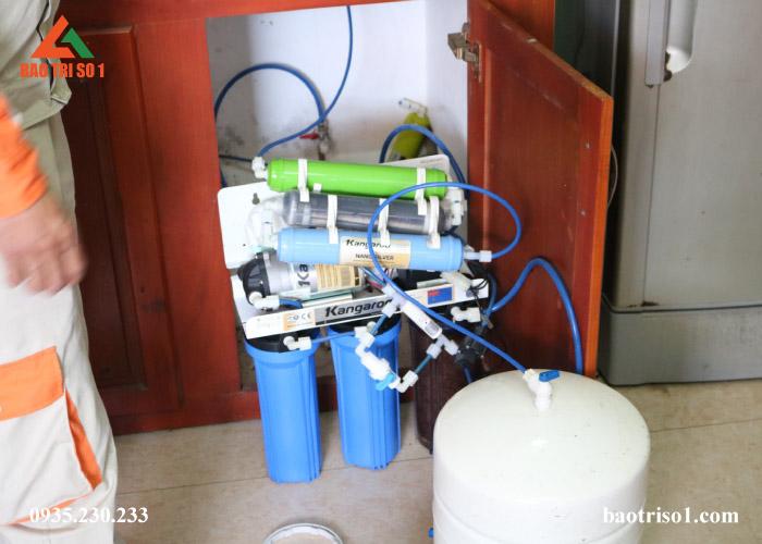 bảo dưỡng máy lọc nước Kangaroo giá rẻ