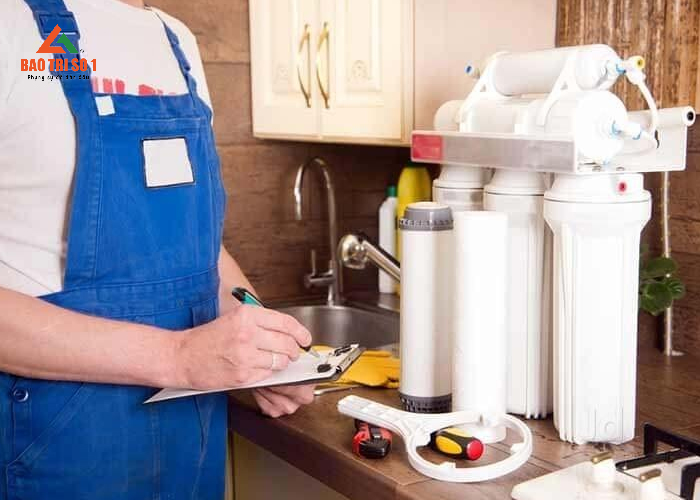 Thay lõi lọc nước tại nhà