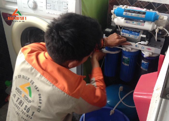 Bảo trì máy lọc nước