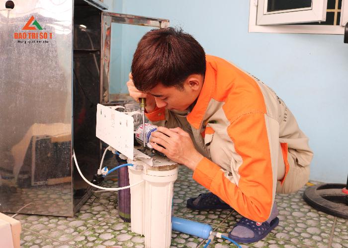 Bảo trì máy lọc nước uy tín chất lượng tại Hà Nội