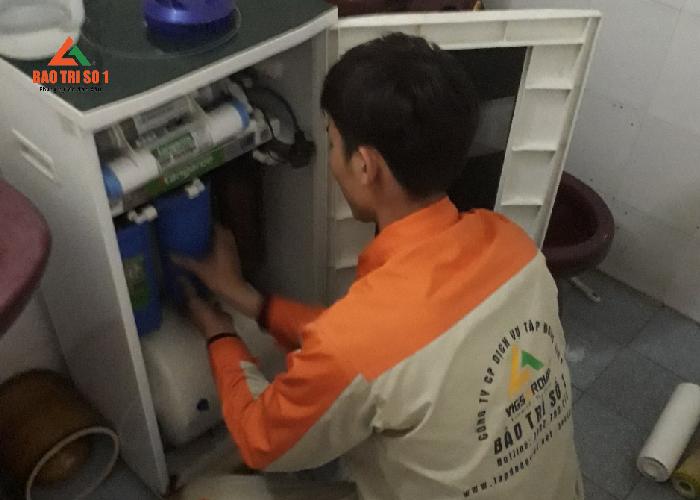 Bảo trì máy lọc nước tại Bảo trì số 1