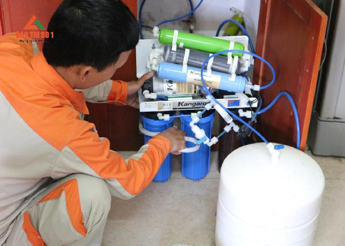 sửa máy lọc nước tại nhà khu vực Hà Nội